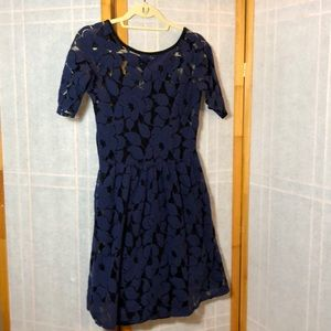 Lacy, Flowery Dress from Anthropologie
